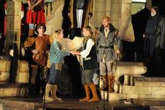Shakespeare por el mar en Soka universidad los E.E.U.U. el 10 de agosto de 2016 Fotografía de archivo libre de regalías