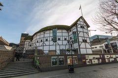 Shakespeare's Globe - London - UK. Shakespeare's Globe - The modern reconstruction of the Globe  Theatre - London - England - UK Stock Photography