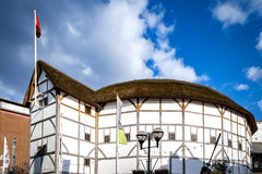 Shakespeare's Globe on a sunny day stock photography
