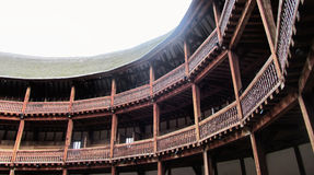 Shakespeare's Globe Theatre. Interior and roof of Shakespeare's Globe Theatre Royalty Free Stock Photography