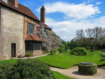 Shakespeare's Home. Home of Shakespeare in England stock photos