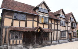 Shakespeare's home at Stratford upon Avon Stock Photos