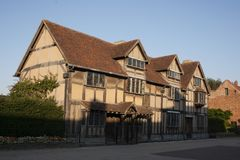 Shakespeare`s house royalty free stock images