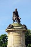 Shakespeare-Statue, Stratford-nach-Avon stockbild