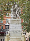 Shakespeare statue Royalty Free Stock Photo