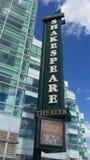 Shakespeare& x27; teatro di s fotografia stock libera da diritti