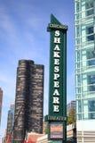 Shakespeare Theater - Chicago, Illinois Stock Images