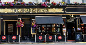 Shakespeare traditional British pub Stock Photos