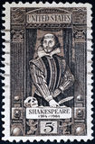 shakespeare william royaltyfri fotografi
