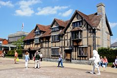 Shakespeares birthplace, Stratford-upon-Avon. Stock Images