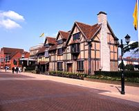 Shakespeares Brithplace, Stratford-upon-Avon. Stock Photo