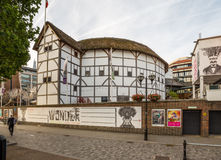 Shakespeares Globe Theatre in London Stock Images