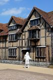 Shakespears birthplace, Stratford-upon-Avon. Royalty Free Stock Images