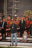 Shakhtar celebrates Royalty Free Stock Photo