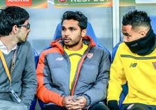 Shakhtar contro Sevilla Fotografia Stock