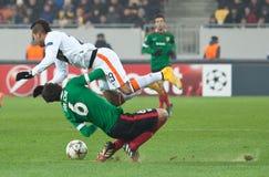 Shakhtar, Donetsk - Athletic, Bilbao soccer game Stock Photos