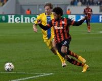 Shakhtar, Donetsk - BEIZBRÜHE, Borissow-Fußballspiel Stockfoto