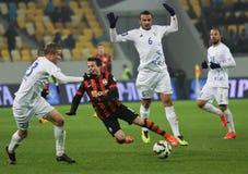 Shakhtar, Donetsk - Goverla, juego de fútbol de Uzhgorod Imágenes de archivo libres de regalías
