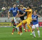 SHAKHTAR, Donetsk vs DNIPRO, Dnipropetrovsk soccer game Stock Photos