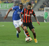 SHAKHTAR, Donetsk vs DNIPRO, Dnipropetrovsk soccer game Royalty Free Stock Photography