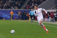 Shakhtar Donetsk vs Real Madrid Liga för UEFA-mästare 2015-2016 säsonger Arkivfoto