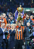 Shakhtar Donetsk, the Winner of Cup of Ukraine 2017 Royalty Free Stock Photo