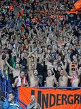 Shakhtar fans Royalty Free Stock Images