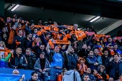Shakhtar gegen Sevilla Stockfotografie