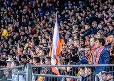 Shakhtar gegen Sevilla Lizenzfreies Stockfoto