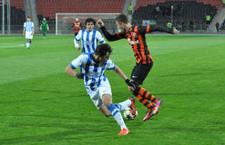 Shakhtar player dribbles Stock Photo