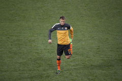 Shakhtar player Vyacheslav Shevchuk Royalty Free Stock Photography