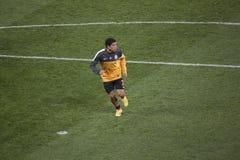 Shakhtar spelarebrasilian Taison Royaltyfria Foton