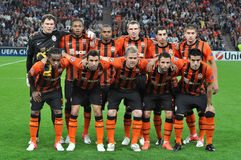Shakhtar team Royalty Free Stock Image