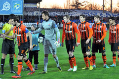 Shakhtar team Stock Photos