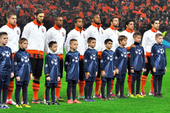Shakhtar team Stock Images