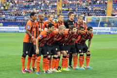 Shakhtar team Royalty Free Stock Images