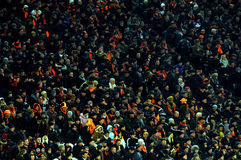 Shakhtar team supporters Stock Photography