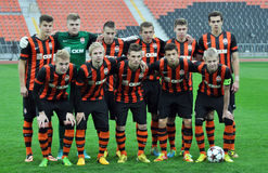 Shakhtar U-19 Royalty Free Stock Photos