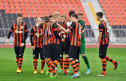 Shakhtar U-19 team Stock Photography