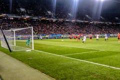Shakhtar versus Sevilla Stock Foto