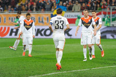 Shakhtar vs Braga Royalty Free Stock Images