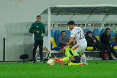 Shakhtar vs Braga Royalty Free Stock Photo