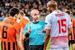 Shakhtar vs Sevilla Zdjęcie Stock