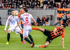 Shakhtar vs Sevilla Royalty Free Stock Photo