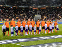 Shakhtar vs Sevilla Stock Photo