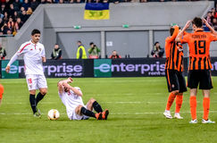 Shakhtar vs Sevilla Stock Photography