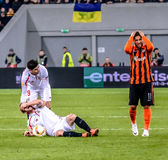 Shakhtar vs Sevilla Stock Photo