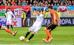 Shakhtar vs Sevilla Royalty Free Stock Photography