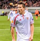 Shakhtar vs Sevilla Royalty Free Stock Photo