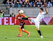 Shakhtar vs Sevilla Royalty Free Stock Images